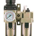 Filtro regulador e lubrificador de ar