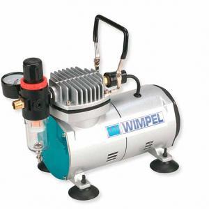 Compressor para aerógrafo com reservatório